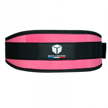 WEIGHTLIFTING BELT PINK | BOX LEGION
