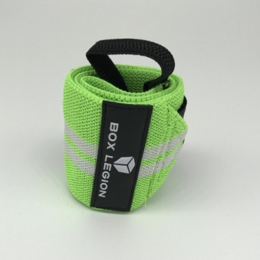 WRAPS VELCRO | ELECTRIC GREEN | BOX LEGION