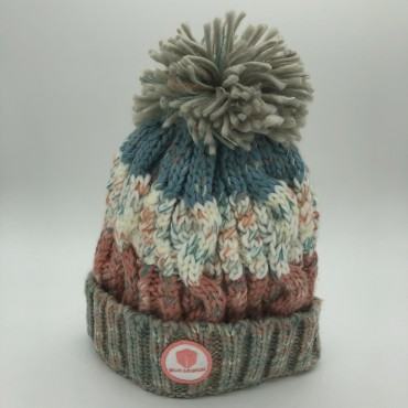 ICON BONNET | GRAY-BLUE-ROSE | BOX LEGION