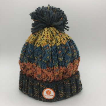 BONNET ICON | ORANGE-BLEU-JAUNE | BOX LEGION