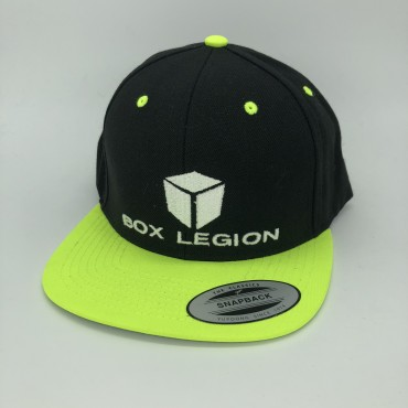 CAP | BLACK-GREEN | BOX LEGION