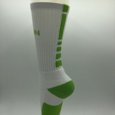 SOCKS | WHITE & GREEN | BOX LEGION