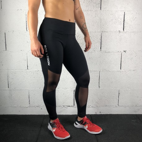 LEGGING POWERZONE BLACK | WOMAN | BOX LEGION