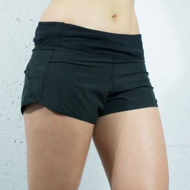 SHORT TRAINING 2.0 BLACK | WOMAN | BOX LEGION