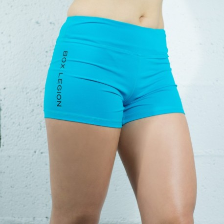 SHORT TRAINING BLUE | WOMAN | BOX LEGION
