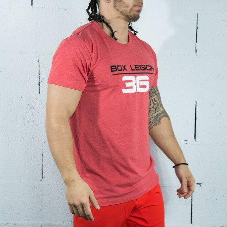 T-SHIRT 36 RED | MAN | BOX LEGION