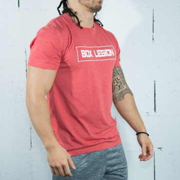 T-SHIRT RED | HOMME | BOX LEGION