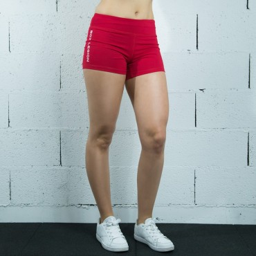 Wod  short Rouge