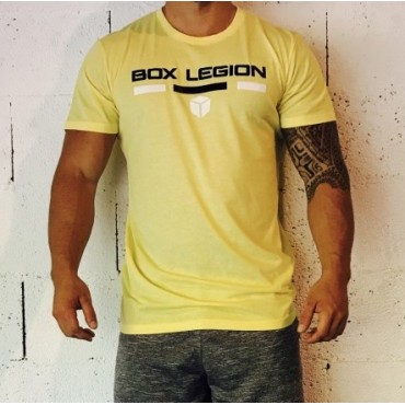 T-SHIRT INTENSITY YELLOW | HOMME | BOX LEGION