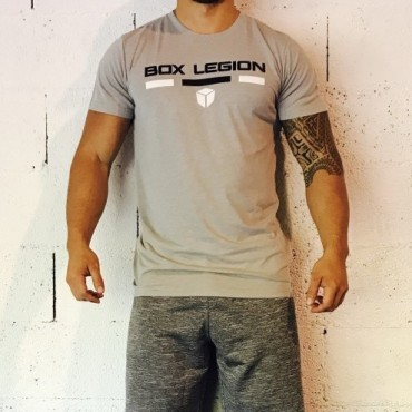 T-SHIRT INTENSITY SILVER | MAN | BOX LEGION