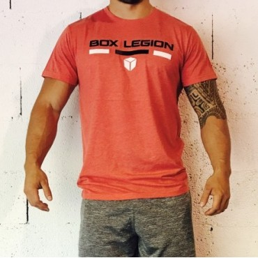 T-SHIRT INTENSITY RED | MAN |BOX LEGION