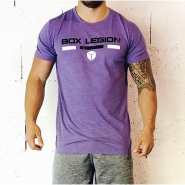 T-SHIRT INTENSITY PURPLE | MAN | BOX LEGION