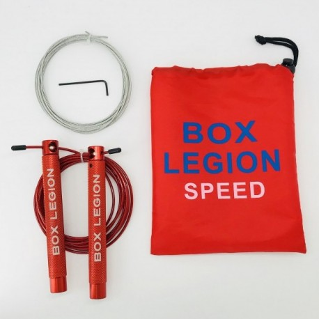 CORDE A SAUTER ROUGE | SPEED 2.0 | BOX LEGION