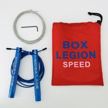 CORDE À SAUTER BLEU | SPEED 2.0 | BOX LEGION