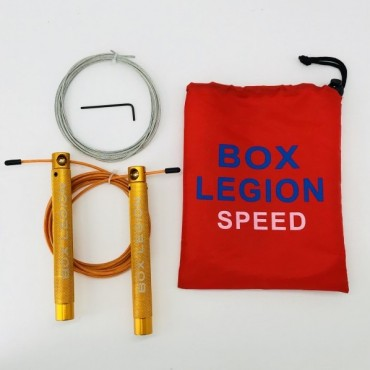 CORDE À SAUTER ORANGE | SPEED 2.0 | BOX LEGION